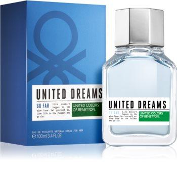 Benetton United Dream Go Far Eau de Toilette para homens 100 ml