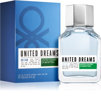 1f0cca9f31 Benetton United Dream Go Far toaletna voda za moške 100 ml