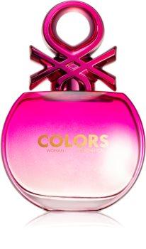 Benetton Colors de Benetton Woman Pink Eau de Toilette für Damen