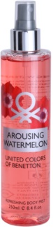 Benetton Arousing Watermelon spray corpo per donna 250 ml