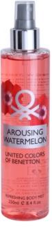 Benetton Arousing Watermelon tělový sprej pro ženy 250 ml