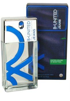 Benetton B. United Jeans eau de toilette pentru barbati 100 ml