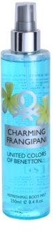 Benetton Charming Frangipani telový sprej pre ženy 250 ml
