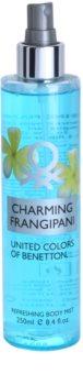 Benetton Charming Frangipani spray corporel pour femme 250 ml