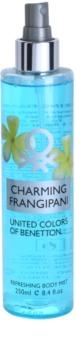 Benetton Charming Frangipani tělový sprej pro ženy 250 ml