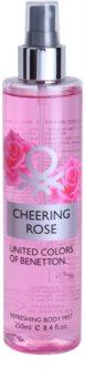 Benetton Cheering Rose spray corpo per donna 250 ml
