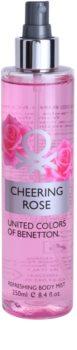 Benetton Cheering Rose Body Spray for Women 250 ml