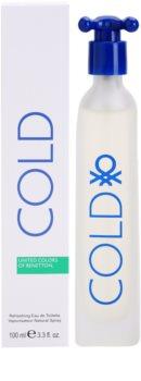 Benetton Cold Eau de Toilette for Men 100 ml