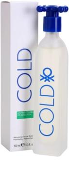 Benetton Cold Eau de Toilette voor Mannen 100 ml