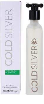 Benetton Cold Silver toaletní voda pro muže 100 ml