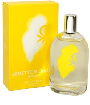 Benetton Giallo eau de toilette pentru femei 100 ml
