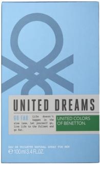 Benetton United Dream Go Far Eau de Toilette für Herren 100 ml