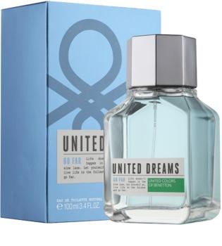 Benetton United Dream Go Far Eau de Toilette Herren 100 ml