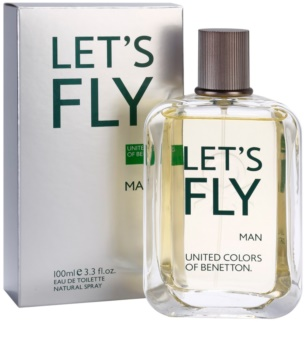 Benetton Let's Fly Eau de Toilette für Herren 100 ml