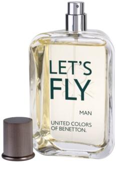 Benetton Let's Fly toaletná voda pre mužov 100 ml