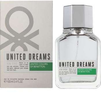 Benetton United Dream Aim High Eau de Toilette voor Mannen 100 ml