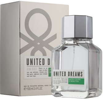 Benetton United Dream Aim High Eau de Toilette for Men 100 ml