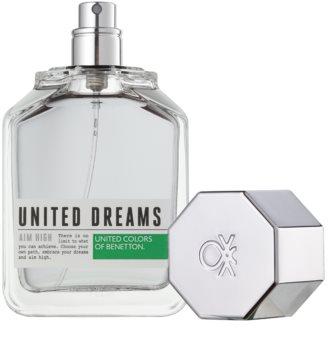 Benetton United Dream Men Aim High woda toaletowa dla mężczyzn 100 ml