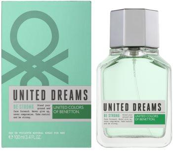 Benetton United Dreams Men Be Strong Eau de Toilette für Herren 100 ml