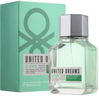 Benetton United Dream Be Strong woda toaletowa dla mężczyzn 100 ml