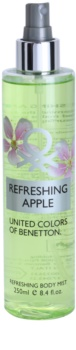 Benetton Refreshing Apple spray corporel pour femme 250 ml