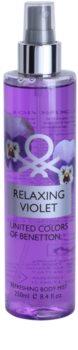 Benetton Relaxing Violet Körperspray für Damen 250 ml