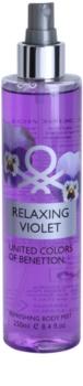 Benetton Relaxing Violet tělový sprej pro ženy 250 ml