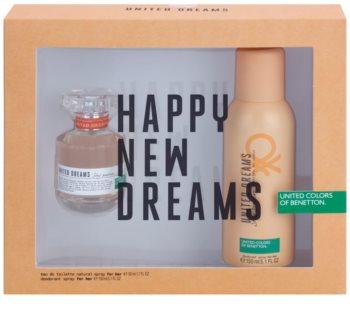 Benetton United Dream Stay Positive dárková sada I.