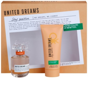 Benetton United Dreams for him Stay Positive Gift Set II. for Women