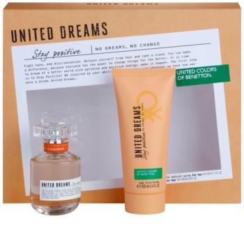 Benetton United Dreams Stay Positive Gift Set II.