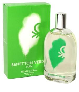 Benetton Verde Eau de Toilette para homens 100 ml