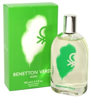 Benetton Verde eau de toilette pour homme 100 ml