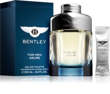 bentley bentley for men azure woda toaletowa 100 ml  zestaw