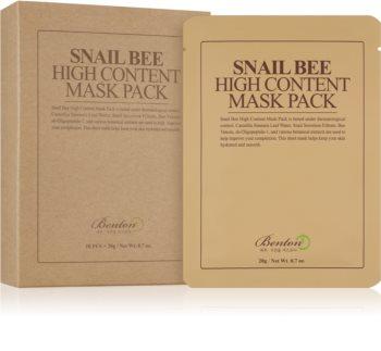 Benton Snail Bee Sheet maska za cjelovitu njegu s ekstraktom puža