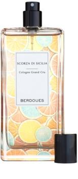 Berdoues Scorza di Sicilia Eau de Cologne unisex 100 ml