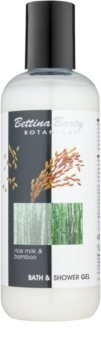 Bettina Barty Botanical Rice Milk & Bamboo sprchový a kúpeľový gél