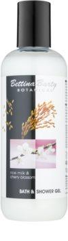 Bettina Barty Botanical Rise Milk & Cherry Blossom żel do kąpieli i pod prysznic