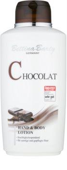 Bettina Barty Chocolate losjon za roke in telo z vlažilnim učinkom