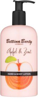 Bettina Barty Apple & Cinnamon leite para mãos e corpo
