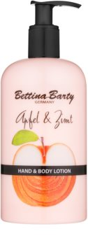Bettina Barty Apple & Cinnamon lotiune pentru maini si corp