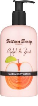 Bettina Barty Apple & Cinnamon mléko na ruce a tělo