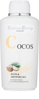 Bettina Barty Coconut sprchový a kúpeľový gél