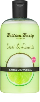 Bettina Barty Coconut & Lime Shower And Bath Gel