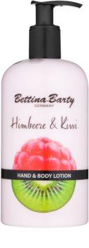 Bettina Barty Raspberry & Kiwi leite para mãos e corpo