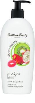 Bettina Barty Happy Fruits Kiwi & Dragon Fruit lait mains et corps