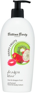 Bettina Barty Happy Fruits Kiwi & Dragon Fruit leche para manos y cuerpo