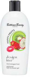Bettina Barty Happy Fruits Kiwi & Dragon Fruit gel bain et douche