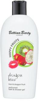 Bettina Barty Happy Fruits Kiwi & Dragon Fruit gel de dus si baie