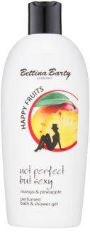 Bettina Barty Happy Fruits Mango & Pineapple sprchový a koupelový gel