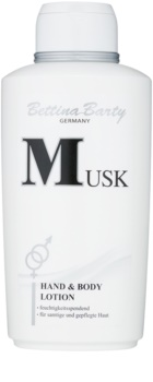Bettina Barty Classic Musk lait corporel pour femme 500 ml
